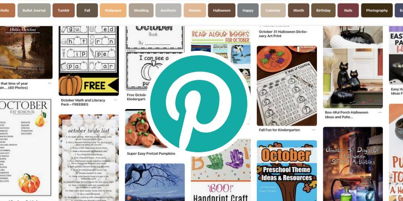 October Pinterest Trends